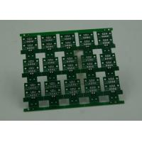 Quality RoHS HASL 4 Layer Rigid PCB Board Fabrication Finish Green Solder Mask wholesale