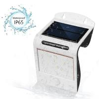 Buy cheap 20 LED Solar motion sensor Lights with 2 Back Warm LEDs for Wall, Porch, Yard and Fence from wholesalers