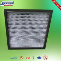 Quality H13 H14 Operating Room Air Purifier Hepa Filter 0.3 Micron Pleated Panel wholesale