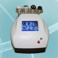 China Quick and health vacuum Cavitation+RF Body slimming machine for Striae pregnancy removal on sale