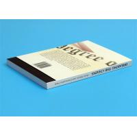 Quality Softcover Book Novel Book Printing Services , Glue Sewing Binding By Automatic Binder wholesale