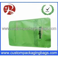 Quality Green PET / AL / PE Aluminium Foil Ziplock Coffee Bag Packaging with Stand up wholesale
