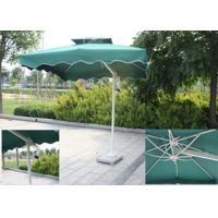 Quality Backyard Small Rectangular Patio Umbrella , Square Offset Umbrella Sunlight Proof wholesale