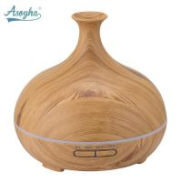 Quality Portable Ultrasonic Oil Diffuser , 300ml Aromatherapy Essential Oil Diffuser wholesale