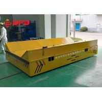 China Chinese Battery Operated Industrial Trackless Transfer Trailer With Motorized on sale