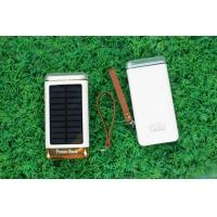 China Ultrathin Solar Powered Battery Charger With Micro Solar Panel 6000mah 8000mah on sale