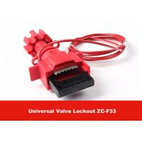 Cheap Universal Valve Lockout with 1.8M Cable Attched to Lock Out Valves for sale