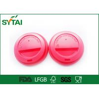 Buy cheap No Smell Eco friendly Paper Coffee Cups Lids For Hot Dirnk , Customized Lids from wholesalers