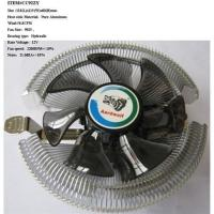 Quality HOT MODEL! (CC92ZY ) CPU COOLER Heat Sink :Pure Aluminum wholesale