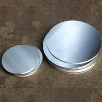 Quality Round Shaped Anodized Aluminum Plate , Round Metal Disk 0.4-6.0mm Thickness wholesale