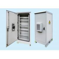 Quality 2.0mm Galvanized Steel Fiber Optic Outdoor Battery Cabinet For Communication wholesale