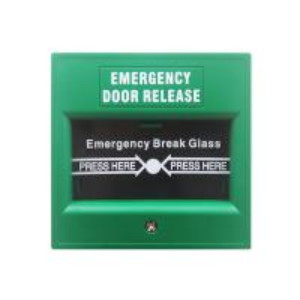 China Plastic Notifier Manual Call Point Explosion Proof , Emergency Break Glass Door Release on sale