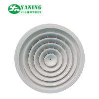 China HVHC System Clean Room Ventilation , Aluminum Round Air Vents Grille on sale