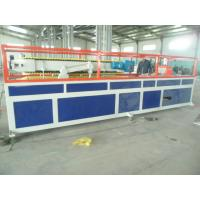 Quality PP / PE Deck Plastic Profile Extrusion Line , WPC Tray Profile Extrusion Machinery wholesale