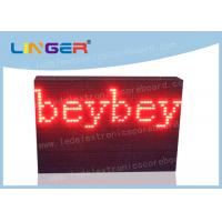 Quality Waterproof Led Sign Programmable Message Scrolling Board With Text Function wholesale