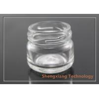 Quality Custom Made 15ml Small Clear Glass Bottles for Manual Candy , Jam wholesale
