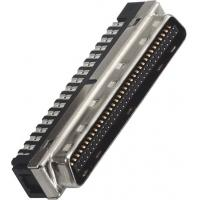 Quality Phosphor Bronze Male DIP Computer Pin Connectors  1.27mm LCP 30%GF UL94V-0 wholesale