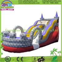 China Guangzhou QinDa Bouncy Castle Inflatable, Inflatable Slide with CE on sale