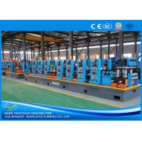 Quality HG114 Blue Steel Pipe Production Line Carbon Steel Large Size 100m / Min Mill Speed wholesale