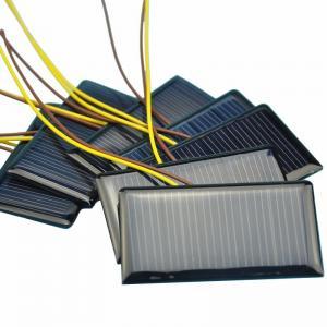 China Solar Water Pumps Mini Solar Panel Module / Polycrystalline Solar Panels on sale