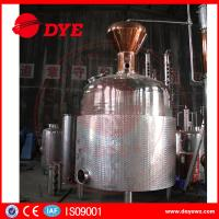Quality Customized Hybrid Alcohol Commercial Distilling Equipment Beautiful Apperance wholesale