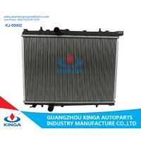 Quality 16 /22/26 Mm Core Thickness Aluminium Car Radiators For Peugeot 206 Mt wholesale
