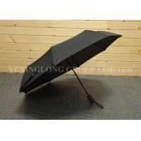 Strong Windproof Button Open Umbrella , Fully Automatic Foldable Umbrella