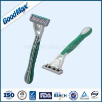 Quality Rubber Handle Five Blade Razor Stainless Steel Blade For Body Face Underarm wholesale