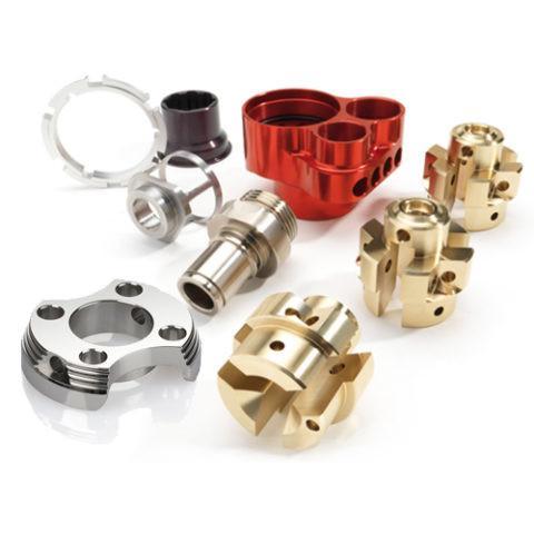 Cheap Teflon Coating Reach Truck Parts , Precision Cnc Machined Parts 0.002mm Tolerance for sale