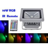 Quality Remote Control 10W RGB LED Flood Lights, Color Changing LED Security Light, 16 Colors & 4 wholesale