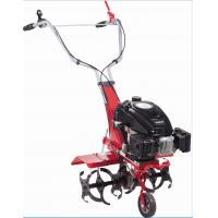 Quality Red Color Multi Function Petrol Garden Tiller For Large Area OEM / ODM Available wholesale