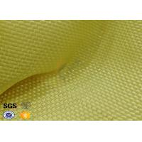 Quality Yellowish Motorcycle Clothing Kevlar Aramid Fabric 0.3 Thickness wholesale