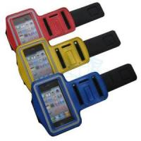 China Sport Arm Band for iPhone, Cotton Fiber Case for iPhone on sale