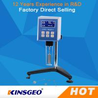 Quality Backlight LCD Digital Display High Temperature Viscometer With LCD Backlight wholesale