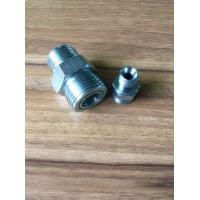 Quality High Pressure Straight ORFS Male O Ring To BSP Male Hydraulic Hose Adapters wholesale