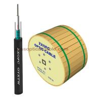 Quality Duct Aerial Direct Burial Fiber Optic Cable Single Mode GYXTW 4 6 8 12 Core wholesale
