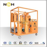 Quality Filteration Unit Lube Oil Purification System , Cement Mill Lube Oil Purification Machine wholesale