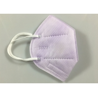 Buy cheap Light Purple Non Woven Flat Fold KN95 Dustproof Mask from wholesalers