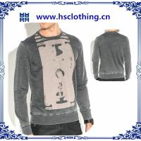 Buy cheap 2015 latest designs 100% Cotton men's hoodies from wholesalers
