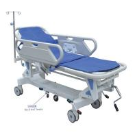 Quality Hospital Manual Crank Ambulance Stretcher Trolley To Patient Transport wholesale