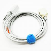 China Gray Masimo Spo2 Cable For Surgical Supplies , High Performance Spo2 Adapter Cable on sale