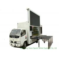 Quality Moving LED Display Advertising Truck With Stage Lifting System For Outdoor Showing wholesale