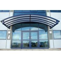 Quality Rain Shed Platform Stainless Steel Canopy , Glass Canopies For Commercial Buildings wholesale