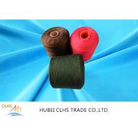 China Recycle Dyed Polyester Yarn 100% Polyester Stable Fiber For Bags Clothes And Shoes on sale