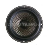 Quality 6.5Inch 8Ohm 100w  car mid bass speaker, carbon cone with rubber edge wholesale