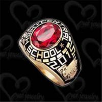 Quality Unique class ring fashion jewelry wholesale