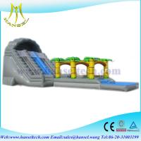 China Hansel Customized giant slide inflatable adult slide ,hot sale inflatable slide on sale