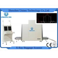 Quality SF100100 Airport Security Baggage Scanners , X Ray Cargo Scanner Big Tunnel Size wholesale