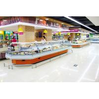 Buy cheap Energy Efficient Countertop Refrigerated Display Case Merchandizer For Sausage And Dairy from wholesalers