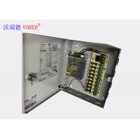 Quality RoHS DC CCTV Power Supply Constant Voltage Light Weight Compact Size wholesale
